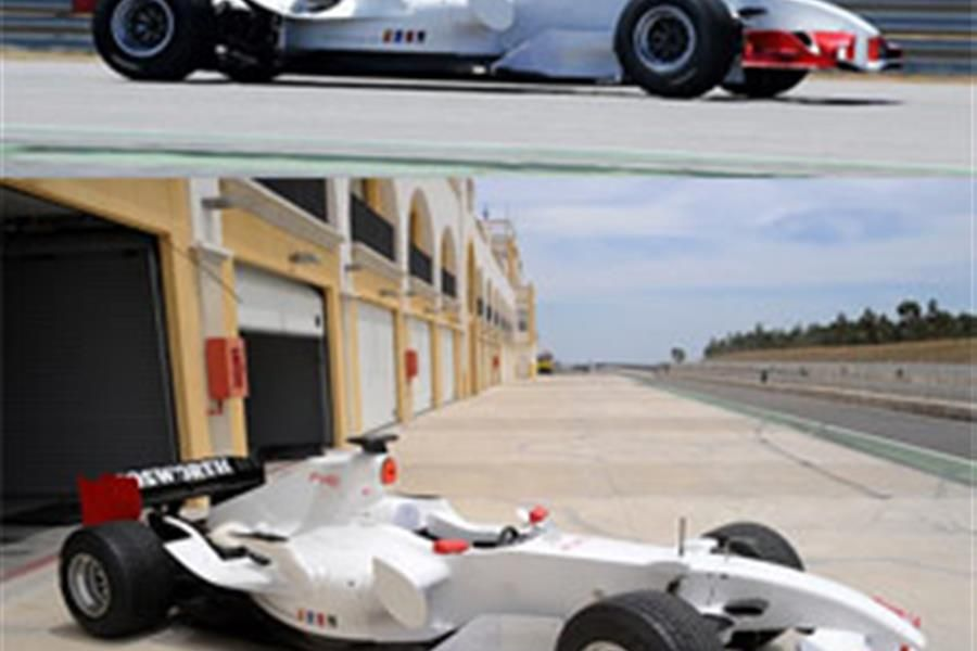 Virgin F1 test drivers gain experience with FV10