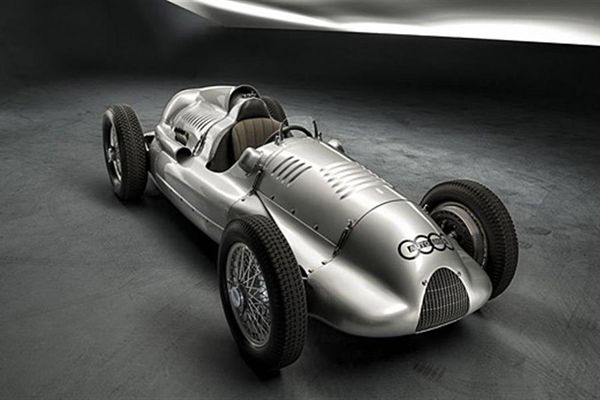 Last Auto Union Type D Twin Supercharger Silver Arrow returns home