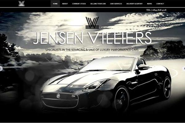 Jensen Villiers - order tomorrows cars today