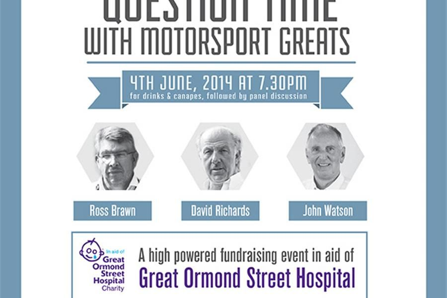 Question time with Motorsport Greats