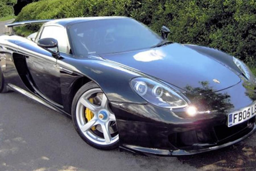 Porsche Carrera GT on offer at BCA