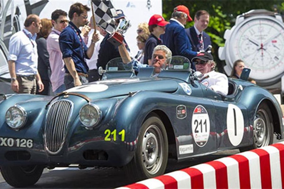 JD Classics Celebrates Another Successful Mille Miglia Finish In Italy