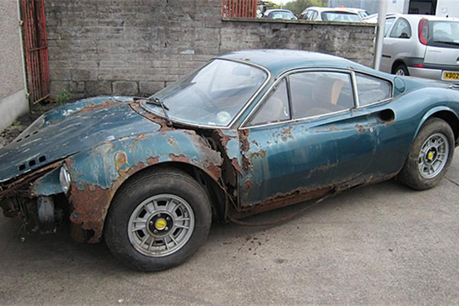 Ferrari 246 GT Barn find