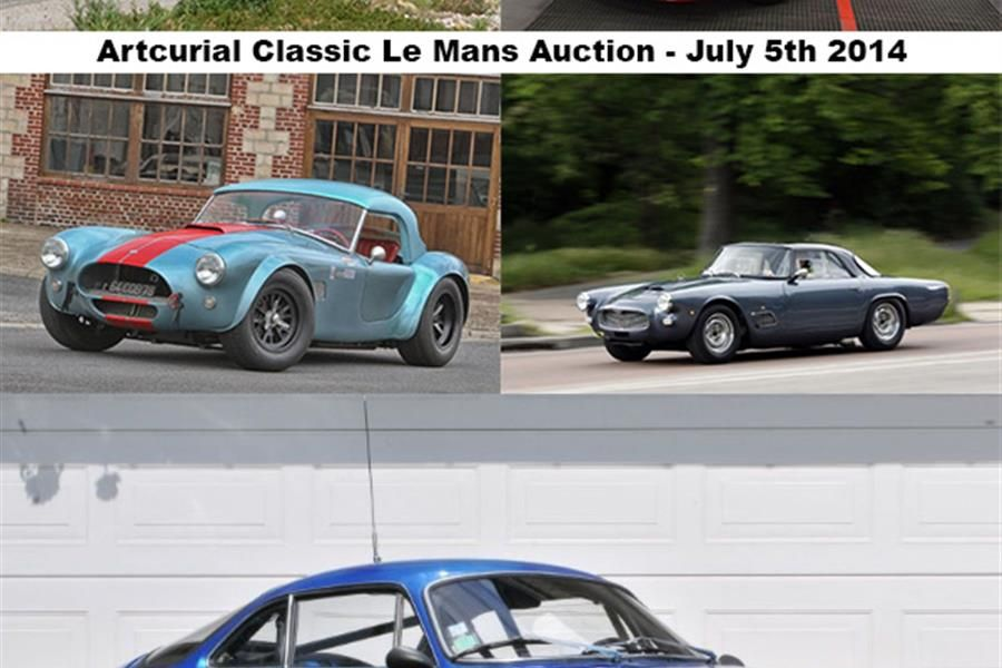 A full grid for Artcurial Motorcars sale at Le Mans Classic