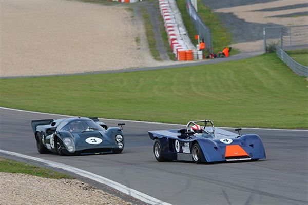 Martin O'Connell wins his third race at Oldtimer GP weekend meeting