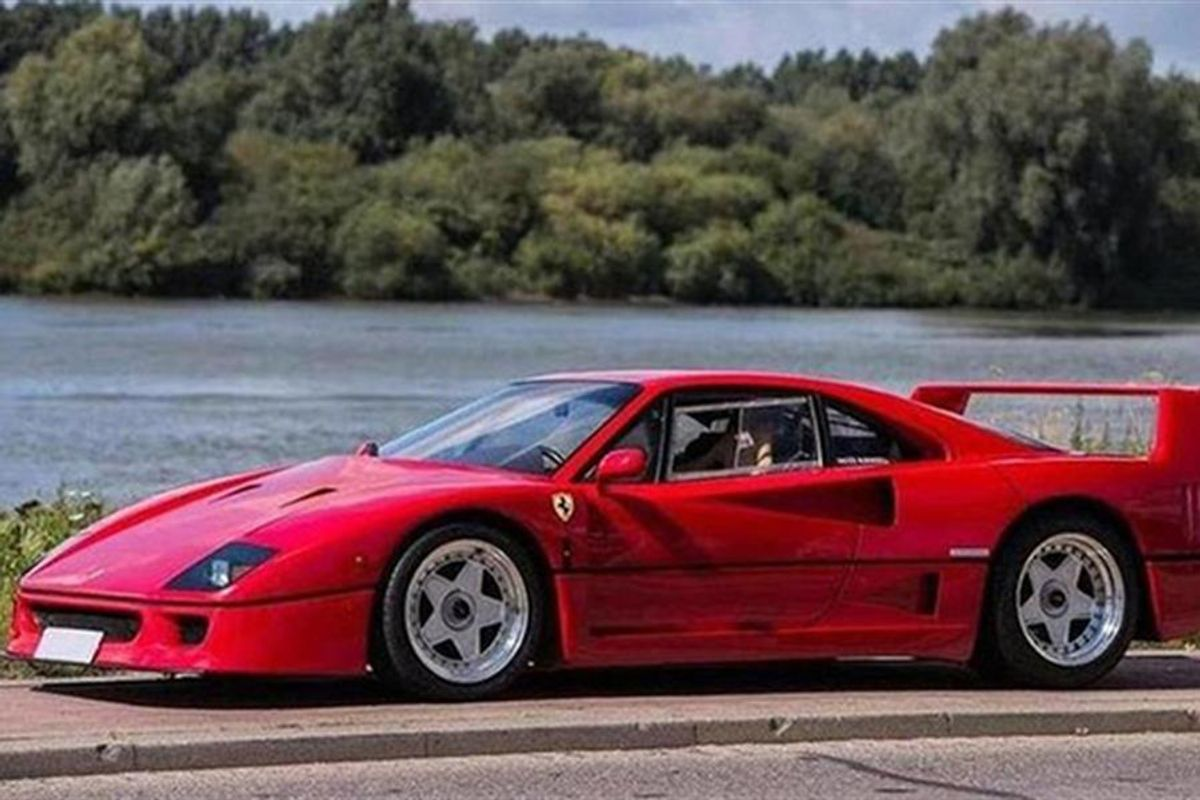 Bonhams to auction ex-Nigel Mansell Ferrari F40