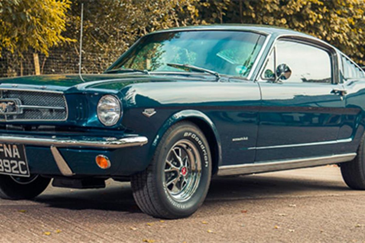 1965 Ford Mustang 289 Hi-Po K Code up for Auction