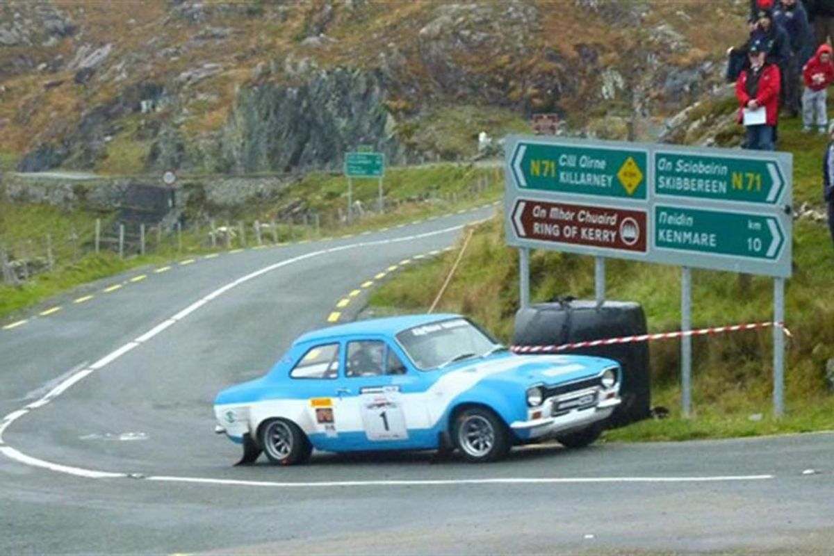 Winner of epic Irish Escort Extravaganza nets trip to Barbados Historic Rally Carnival