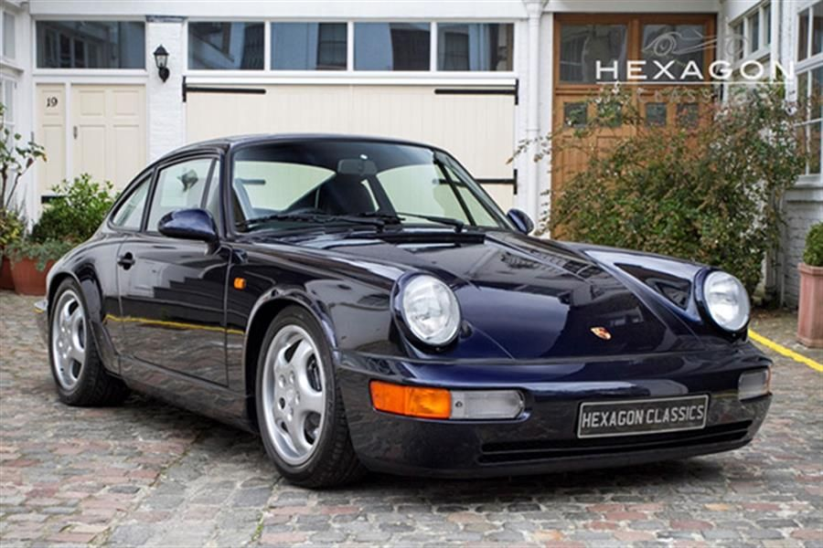 Lowest mileage Porsche 964 RS