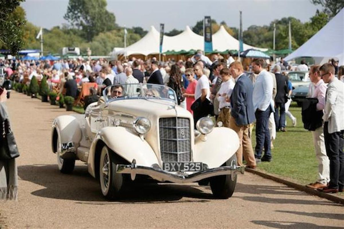 Salon Prive Concours d'Elegance moves to Blenheim Palace
