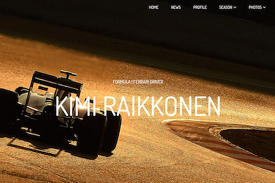 The Iceman returns for 2015 - New Kimi Raikkonen site by Racecar