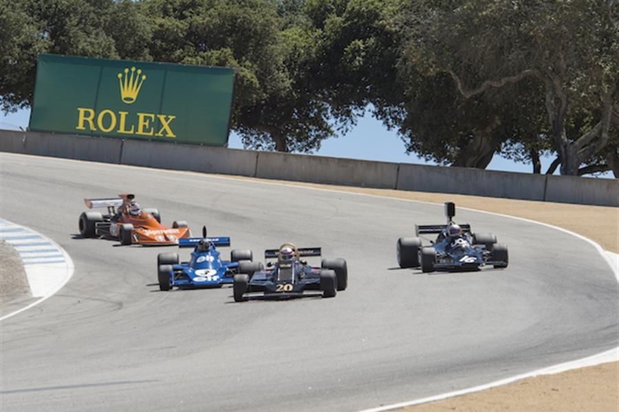 Massive Historic Formula One entry for Rolex Monterey Motorsports Reunion