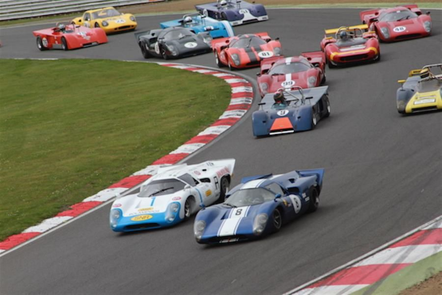 Greg Thornton stars at Brands Hatch Masters Festival