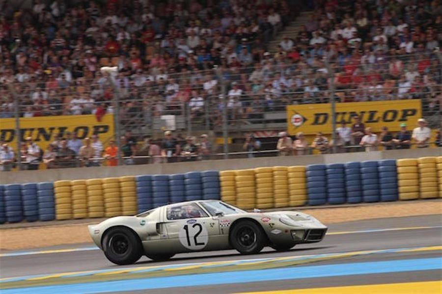 GT40 1,2, at Le Mans Legend