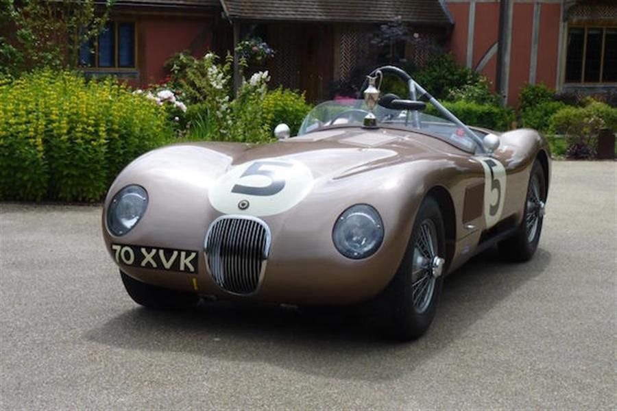 JD Classics' ex-Fangio C-Type storms to class win at Le Mans Classic