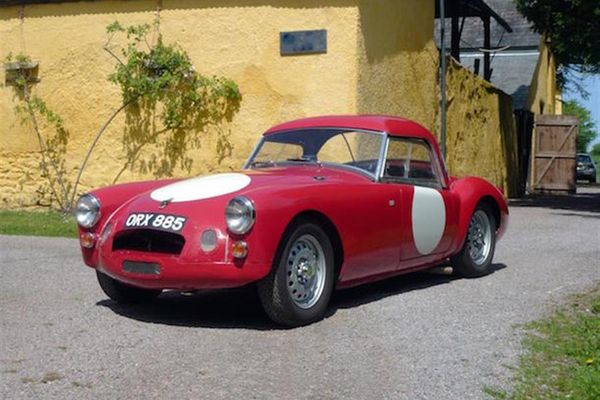 1957 MGA twin cam prototype another headliner for H and H at Chateau Impney auction