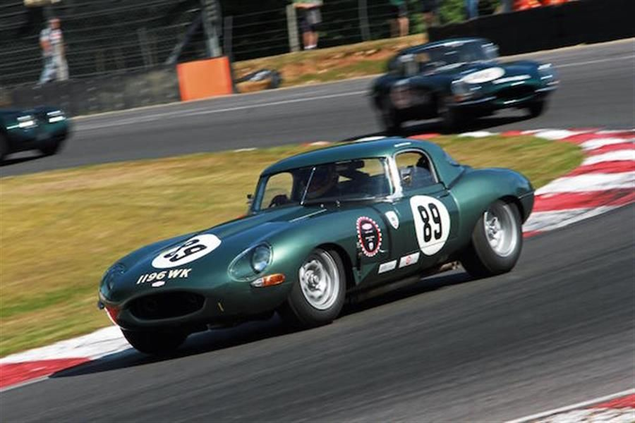 JD Classics takes dominant 1,2, finish at Brands Jaguar Heritage Challenge