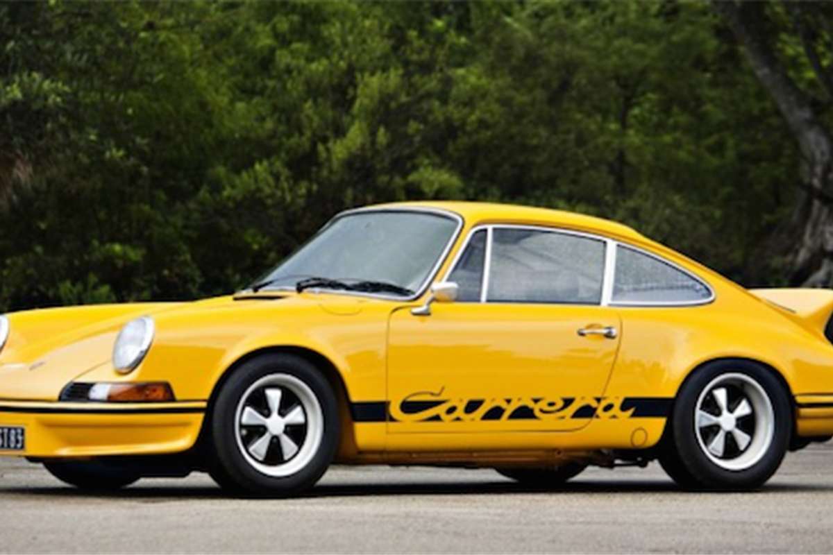 Iconic 1973 Porsche 911 Carrera 2 7 Rs Touring On Offer At Pebble Beach Historic And Market News Racecar Creative Digital Solutions