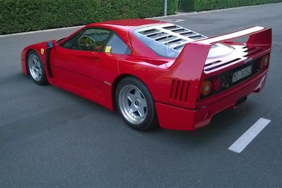 1992 Ferrari F40 sells for Euro 1,12 million at Coys Oldtimer Auction