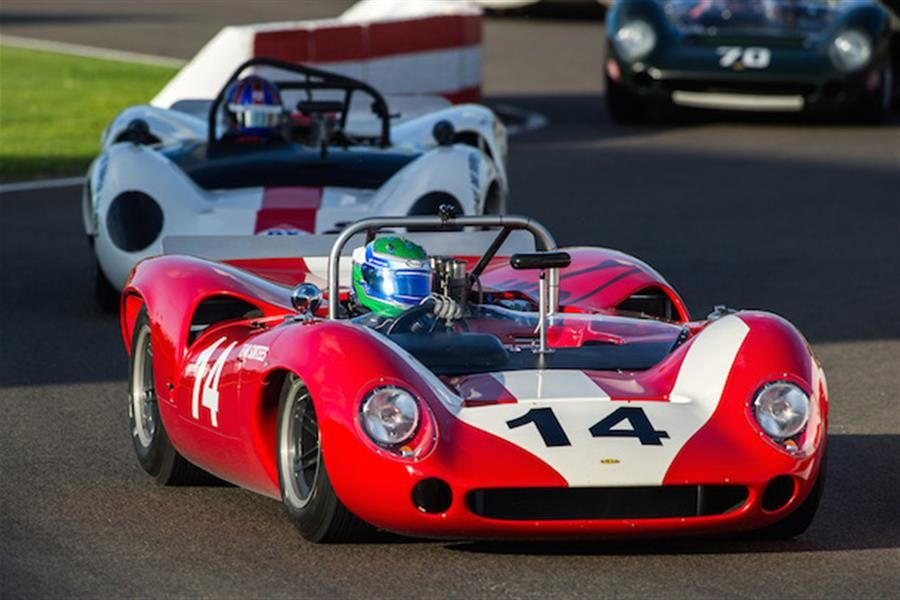 Nick Padmore Storms to Whitsun Trophy Win at Goodwood Revival