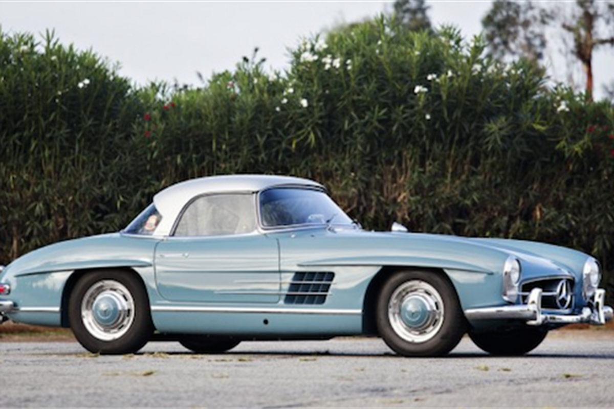 1959 Mercedes-Benz 300 SL Roadster on offer at Scottsdale Auctions
