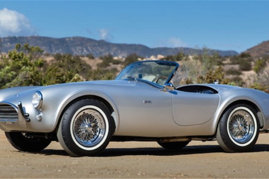 1962 Shelby Cobra at The Scottsdale Auctions