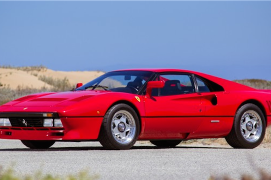 Iconic Ferrari Road Cars at The Scottsdale Auctions include 1985 Ferrari 288 GTO