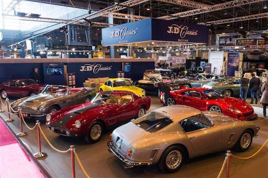 JD Classics wow Retromobile crowds with incredible classic car lineup