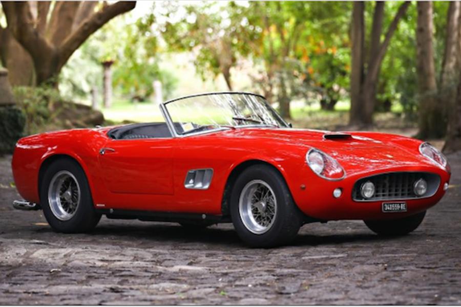 Quintessential 1961 Ferrari 250 Gt Swb California Spider At Amelia