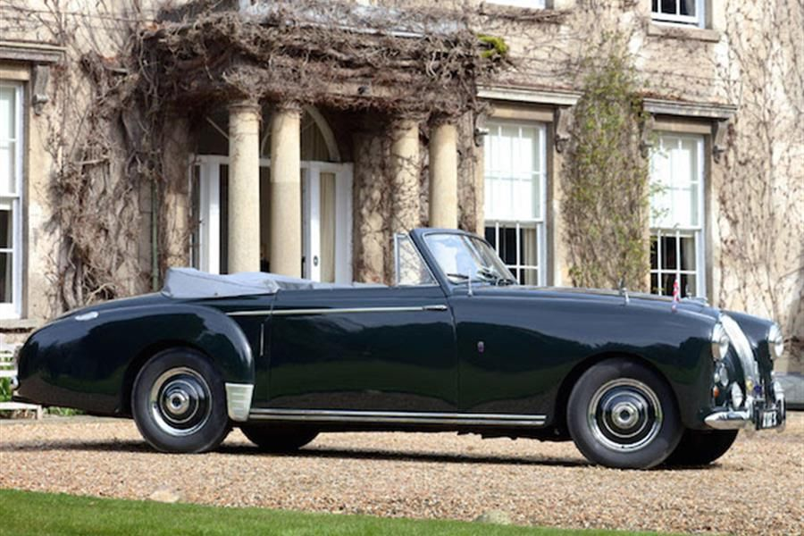 1954 Lagonda 3 Litre Drophead Coupe, built at the order of HRH, Prince Philip, The Duke of Edinburgh