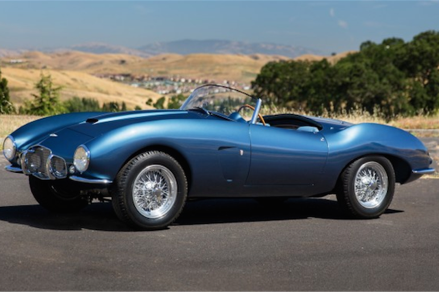 One of a Kind Coachbuilt Aston Martin at The Pebble Beach Auctions