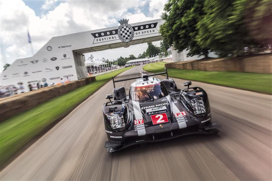 Porsche set the pace at the Goodwood Festival of Speed
