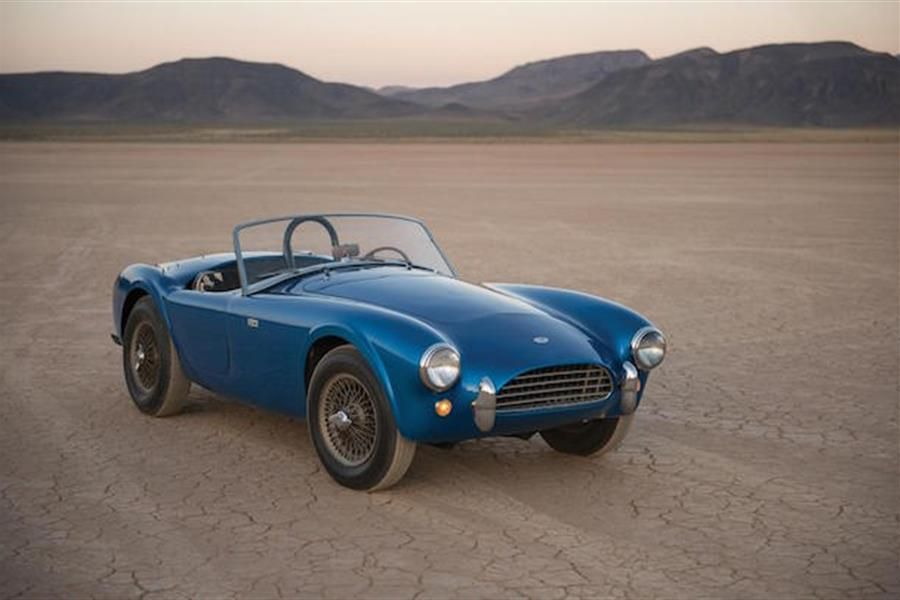 RM Sothebys presents the first Shelby Cobra, CSX 2000, at its flagship Monterey, California sale, August 19-20