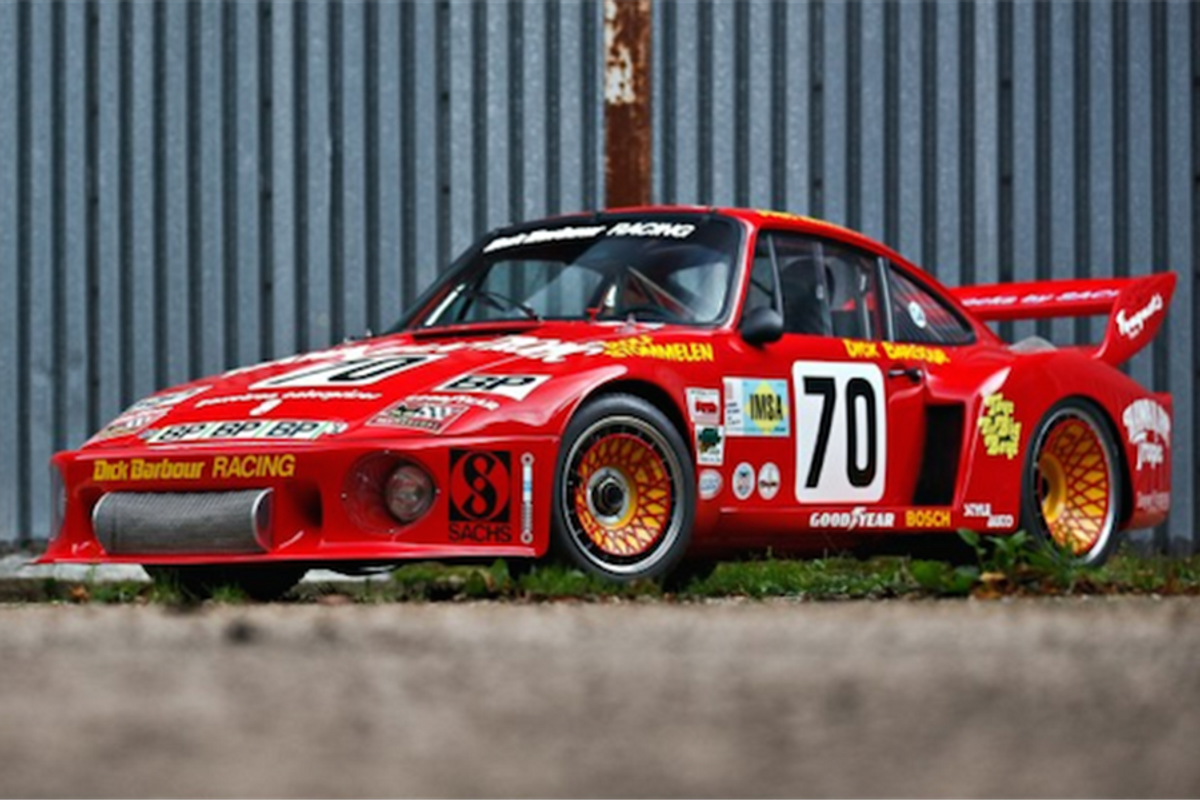 Paul Newman's Porsche 935 at The Pebble Beach Auctions