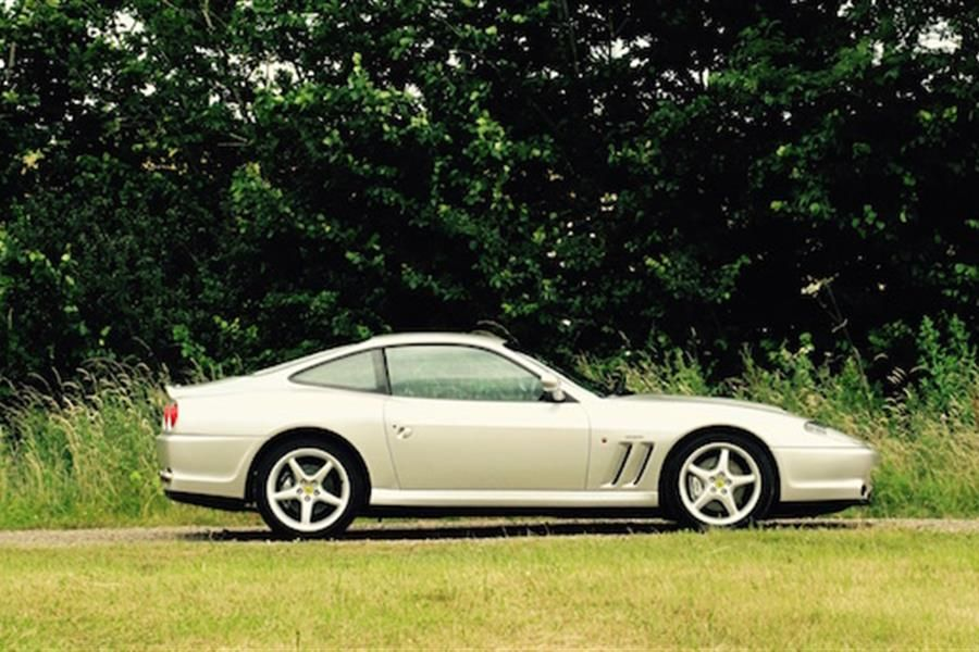 Football legend's 2000 Ferrari 550 Maranello set to be a win at auction