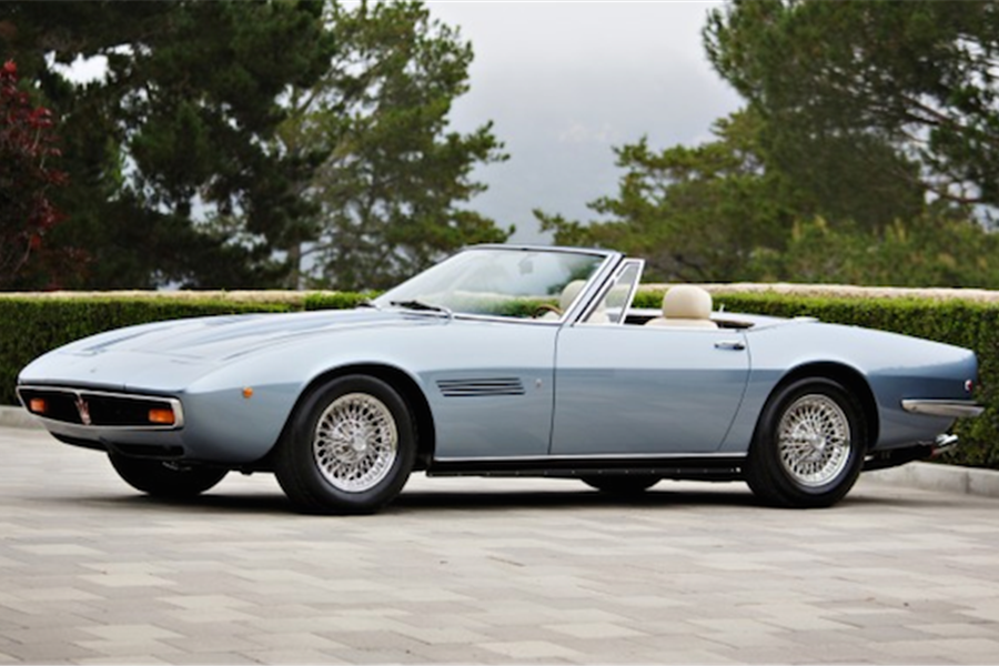 Ultimate Maserati Ghibli at The Pebble Beach Auctions