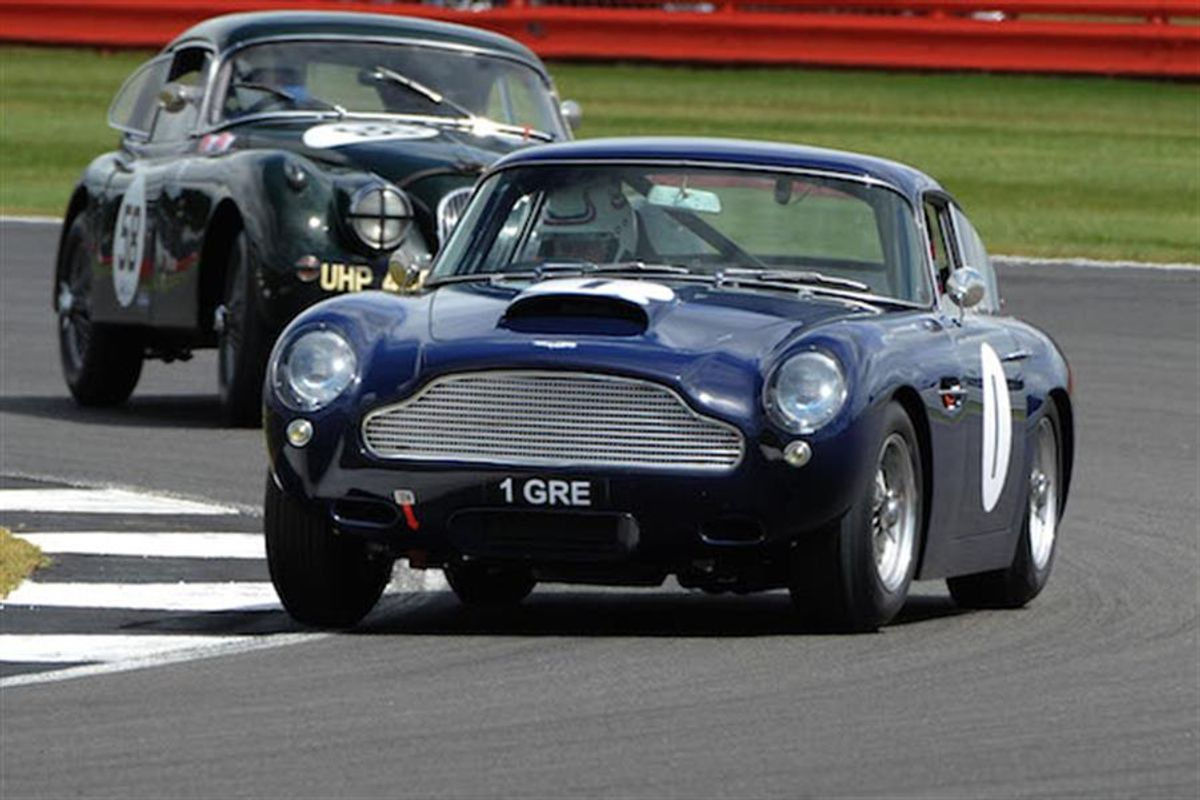 Action packed first day at Silverstone Classic