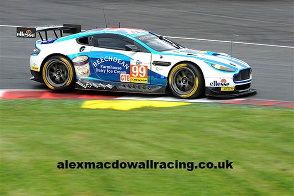 Alex Macdowall Racing - new site by Racecar