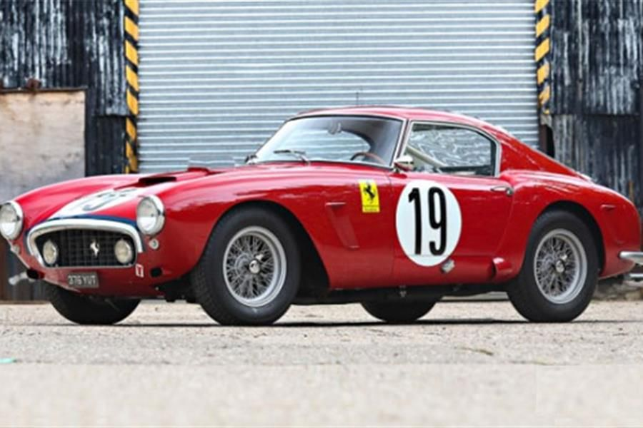 Ferrari 250 SWB Le Mans Veteran at The Pebble Beach Auctions‏