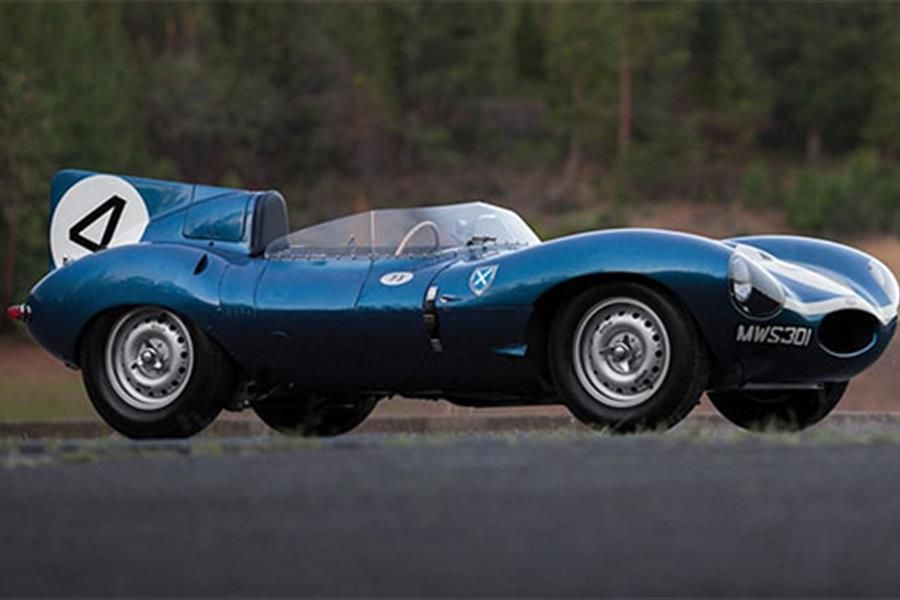 Jaguar D Type - winner of the 1956 Le Mans at Monterey Auction