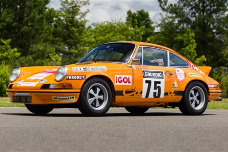 Porsche 911 RSH to be auctioned at Pebble Beach 2016