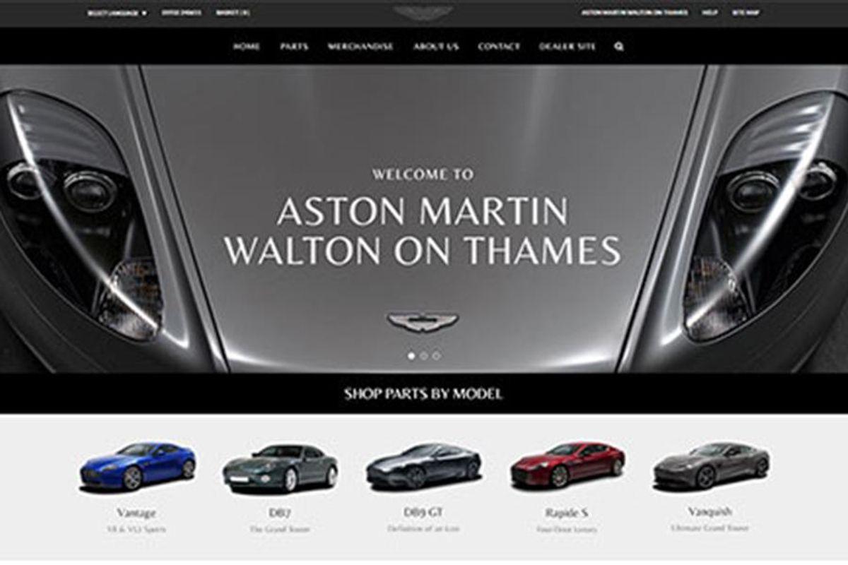 Hwm Aston Martin Parts New Site By Racecar Client News Racecar Creative Digital Solutions
