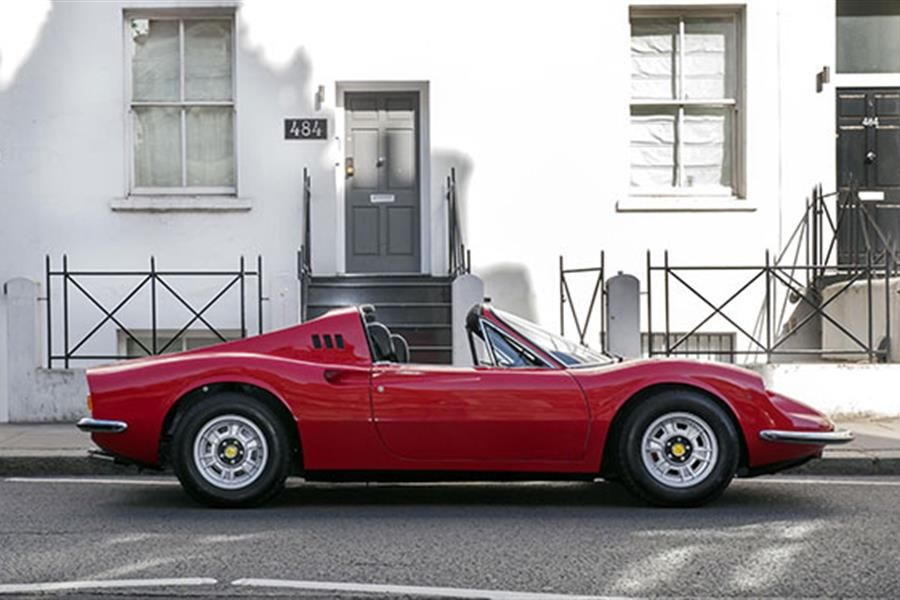 1973 Ferrari Dino owned by Led Zeppelin's Manager at COYS auction