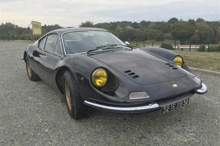 1969 Ferrari Dino 246 GT Type L under the hammer at COYS