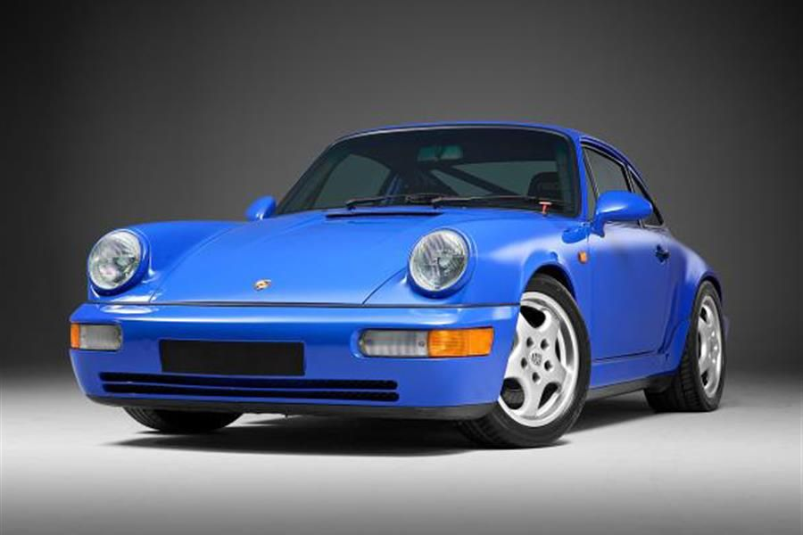 A 1991 Porsche 911 (964) Carrera RS NGT, one of only 290 at Silverstone Auctions