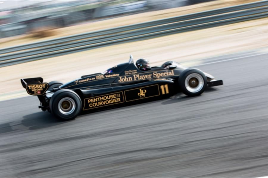 Thornton's delight at Jarama Masters Historic F1