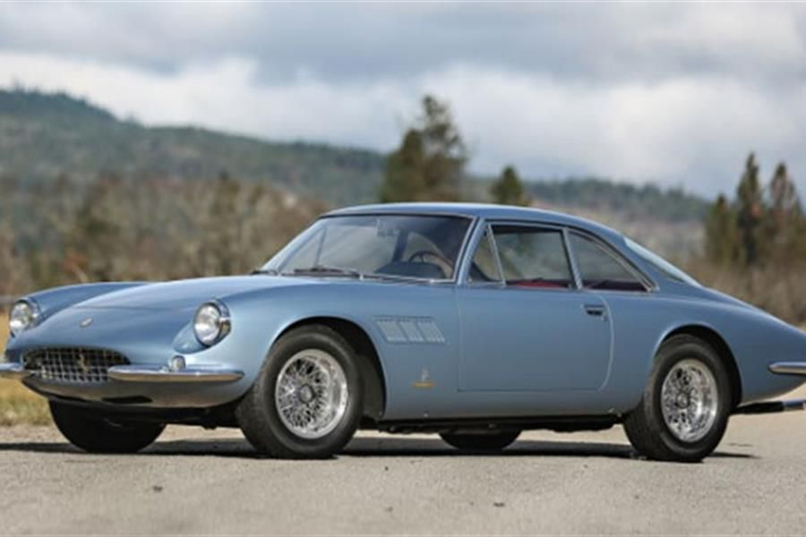 Legendary 1965 Ferrari 500 Superfast at The Scottsdale Auctions