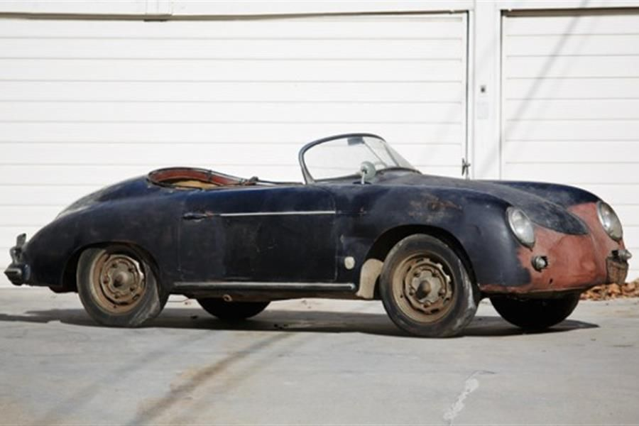 'Barn find' 1958 Porsche 356 A Super Speedster at Scottsdale auction