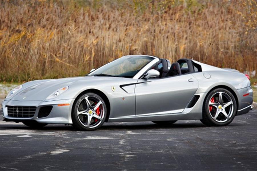 2011 Ferrari 599 Sa Aperta At Scottsdale Auction Historic And Market News Racecar Creative Digital Solutions