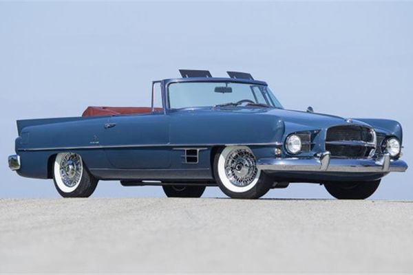 Fully restored 1957 Dual-Ghia on offer at Scottsdale